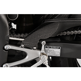 GYTR Carbon Fiber Heel Guards - Graves Carbon Fiber Replacement Heel Guard For Graves Rearset