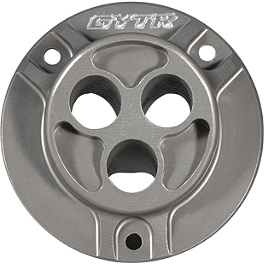GYTR Quiet Muffler Two-Piece End Cap - GYTR Lightspeed Carbon Fiber Sprocket Cover