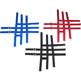 GYTR Replacement Nerf Bar Webbing - Rock Standard Nerf Bar Nets Black