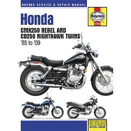 Haynes Repair Manual - 1985 Honda Rebel 250 - CMX250C JT Front Sprocket 520