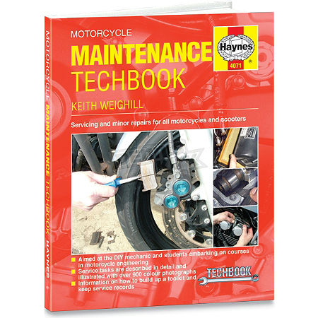 Haynes Maintenance Techbook - Main