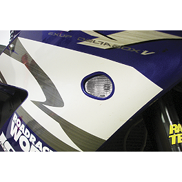 Hotbodies Racing Flush Mount LED Turn Signal - Clear - 2011 Yamaha YZF - R6 Hotbodies Racing Flush Mount LED Turn Signal - Blue