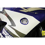 Hotbodies Racing Flush Mount LED Turn Signal - Clear - Honda CBR600F4I Motorcycle Lights and Electrical