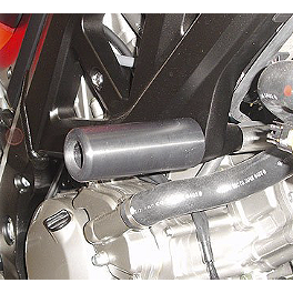 Hotbodies Racing No Mod Frame Slider Kit - Black - 2006 Suzuki SV650 Hotbodies Racing Fiberglass Race Upper - Unpainted