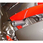 Hotbodies Racing No Mod Frame Slider Kit - Black -  Dirt Bike Frame Sliders