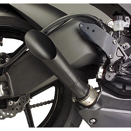 Hotbodies Racing Megaphone Slip-On Exhaust - Black - 2009 Kawasaki ZX600 - Ninja ZX-6R Hotbodies Racing Rear Tire Hugger - Black