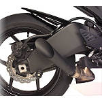 Hotbodies Racing Megaphone Slip-On Exhaust - Black - Slip On Motorcycle Exhaust Systems