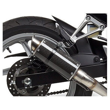 Hotbodies Racing MGP Growler Slip-On Exhaust - Carbon - Main