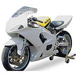 Hotbodies Racing Non SRAD Fiberglass Race Bodywork Set - Unpainted - Motorcycle Fairings & Body Parts