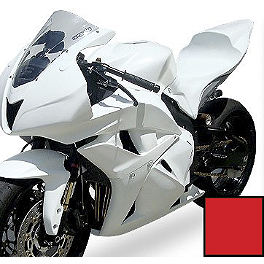 Hotbodies Racing Fiberglass Race Tank Cover - 2007 Honda CBR600RR Hotbodies Racing GP Windscreen
