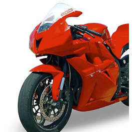 Hotbodies Racing Color Form Race Front Fender - 2008 Honda CBR600RR Hotbodies Racing Flush Mount LED Turn Signal - Smoke