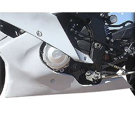Hotbodies Racing Fiberglass Race Lower - Unpainted - 2011 Yamaha YZF - R6 Hotbodies Racing Color Form Race Bodywork