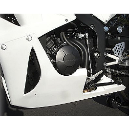 Hotbodies Racing Fiberglass Race Lower - Unpainted - 2007 Honda CBR600RR Hotbodies Racing GP Windscreen
