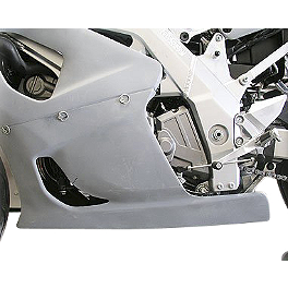 Hotbodies Racing Fiberglass Race Lower - Unpainted - 2005 Suzuki SV650 Hotbodies Racing Fiberglass Race Tail - Unpainted