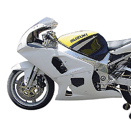 Hotbodies Racing Non SRAD Fiberglass Race Lower - Unpainted - 2000 Suzuki GSX-R 600 Hotbodies Racing Non SRAD Fiberglass Race Tail - Unpainted