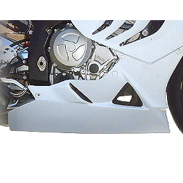 Hotbodies Racing Color Form Race Lower - 2011 BMW S1000RR Hotbodies Racing Fiberglass Race Tail With Seat - Unpainted