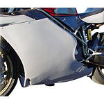 Hotbodies Racing Fiberglass Race Right Middle - Unpainted - Hotbodies Racing Motorcycle Body Parts