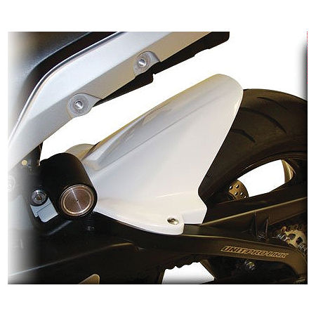 Hotbodies Racing Rear Tire Hugger - White - Main