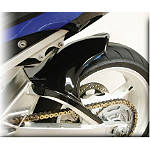 Hotbodies Racing Rear Tire Hugger - Novelty Black - Motorcycle Fairings & Body Parts