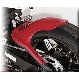 Hotbodies Racing Rear Tire Hugger - Red 2007 - Vortex Front Brake Lever Kit