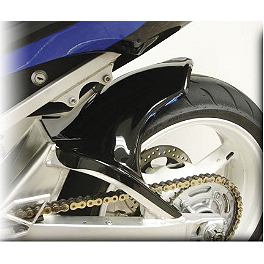 Hotbodies Racing Rear Tire Hugger - Black - 2010 Kawasaki ZX600 - Ninja ZX-6R Puig Rear Tire Hugger - Black