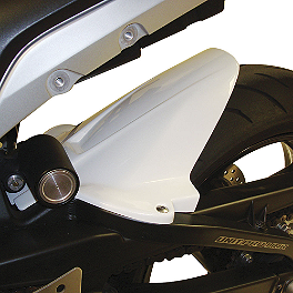 Hotbodies Racing Rear Tire Hugger - White - 2011 BMW S1000RR Hotbodies Racing Fiberglass Race Tail With Seat - Unpainted