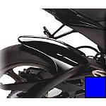 Hotbodies Racing Rear Tire Hugger - 2009 Blue - Motorcycle Fenders