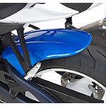 Hotbodies Racing Rear Tire Hugger - Blue - Dirt Bike Fenders