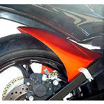 Hotbodies Racing Rear Tire Hugger - Candy Max Orange - Motorcycle Fenders