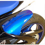 Hotbodies Racing Rear Tire Hugger - Metallic Triton Blue - Hotbodies Racing Motorcycle Products