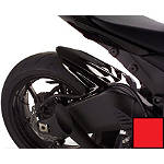 Hotbodies Racing Rear Tire Hugger - Passion Red - Dirt Bike Fenders