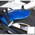 Hotbodies Racing Rear Tire Hugger - Pearl Mirage White - Hotbodies Racing Motorcycle Products