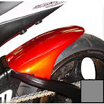 Hotbodies Racing Rear Tire Hugger - Phantom Grey - Motorcycle Decals & Graphic Kits
