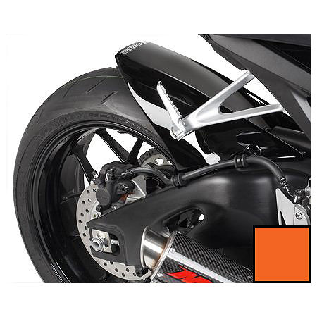 Hotbodies Racing Rear Tire Hugger - Repsol Orange - Main