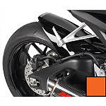 Hotbodies Racing Rear Tire Hugger - Repsol Orange - Dirt Bike Fenders