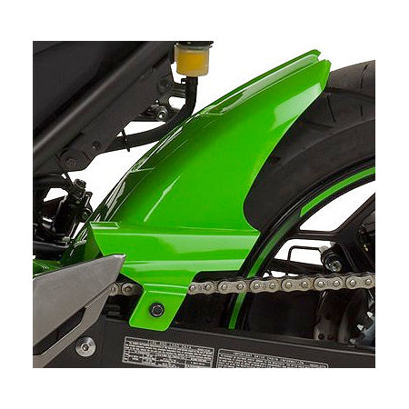 Hotbodies Racing Rear Tire Hugger - Lime Green - Main
