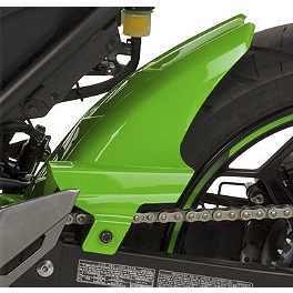 Hotbodies Racing Rear Tire Hugger - Lime Green - Hotbodies Racing Rear Tire Hugger - Passion Red