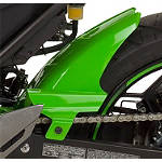 Hotbodies Racing Rear Tire Hugger - Lime Green - Dirt Bike Fenders