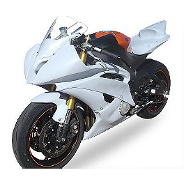 Hotbodies Racing Fiberglass Race Upper - Unpainted - 2011 Yamaha YZF - R6 Hotbodies Racing Color Form Race Bodywork