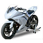 Hotbodies Racing Fiberglass Race Upper - Unpainted - Ducati 1098R Motorcycle Body Parts