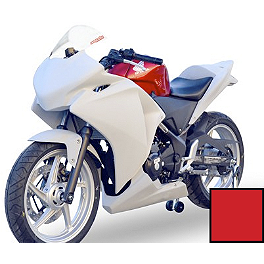 Hotbodies Racing Color Form Race Upper - 2011 Honda CBR250R Hotbodies Racing ABS License Plate Tag Bracket