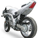 Hotbodies Racing Undertail - 2009 Silver - Motorcycle Fender Eliminators