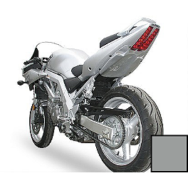 Hotbodies Racing Undertail - Metallic Thunder Grey - 2005 Suzuki SV650 Hotbodies Racing Fiberglass Race Tail - Unpainted