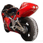 Hotbodies Racing Undertail - Pearl Crystal Red - Motorcycle Fairings & Body Parts