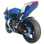 Hotbodies Racing Undertail - 008 Blue - Motorcycle Parts