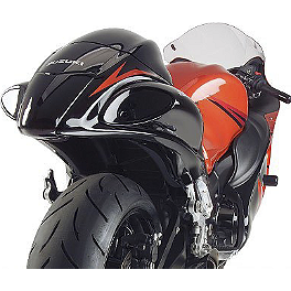 Hotbodies Racing Tail Light Kit - Transparent Smoke - Hotbodies Racing MGP Growler Slip-On Exhaust - Carbon
