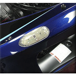 Hotbodies Racing Turn Signal/Mirror Block-Off Clear - 2008 Suzuki GSX-R 750 Yana Shiki Hex Oil Cap - Polished