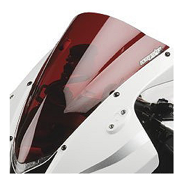 Hotbodies Racing GP Windscreen - 2006 Honda CBR600RR Puig Racing Windscreen - Smoke