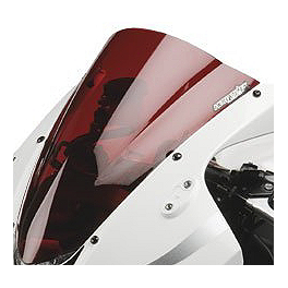 Hotbodies Racing GP Windscreen - 2004 Kawasaki ZX600 - Ninja ZX-6RR Zero Gravity Double Bubble Windscreen
