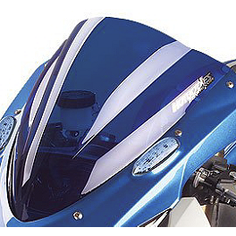 Hotbodies Racing GP Windscreen - 2005 Kawasaki ZX600 - Ninja ZX-6RR Zero Gravity Double Bubble Windscreen